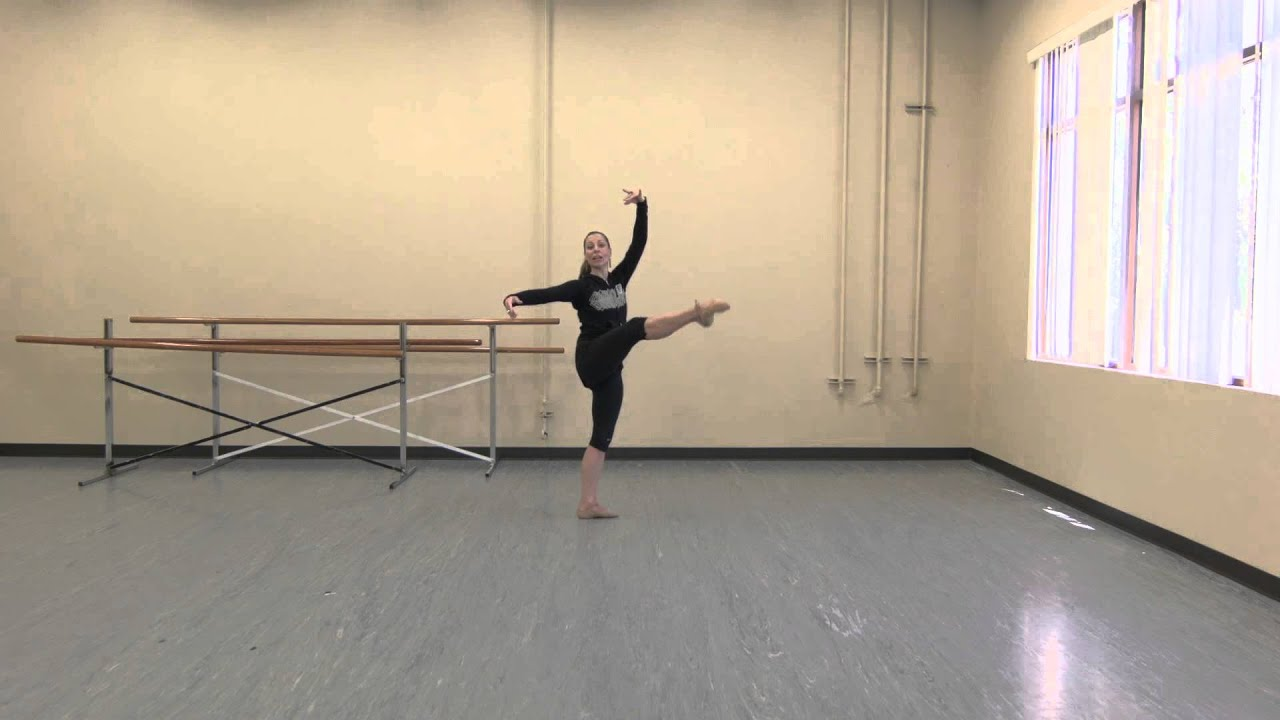 Shine On Series Ballet Adagio Combination With Lizzie Keller