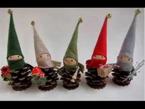 Manualidades con pi as para los mas peque os 4 youtube - Manualidades navidad con pinas ...