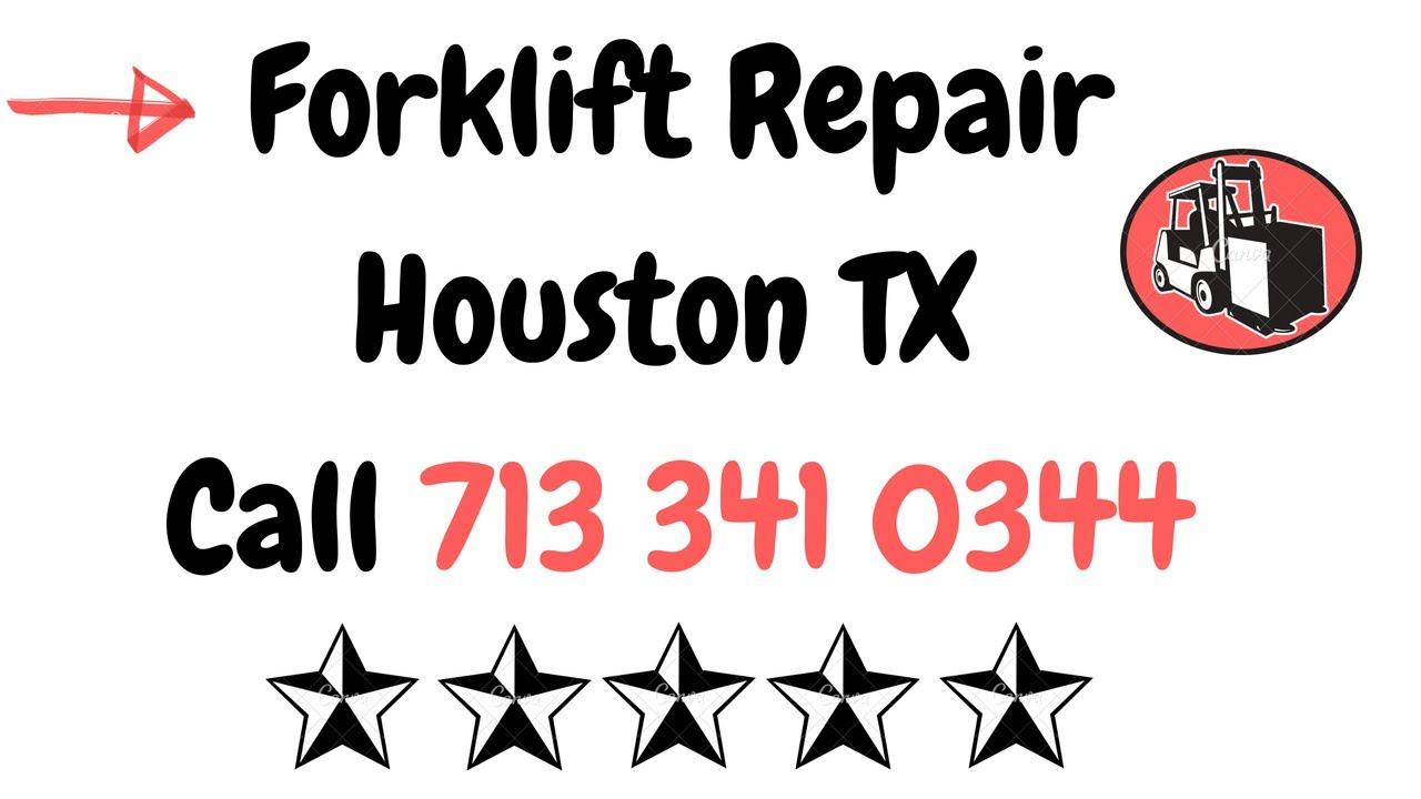 Expert Forklift Repair Service Houston Texas Youtube