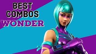 Best Combos | Wonder | Fortnite SKin Review