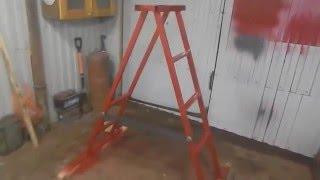 Самодельная  лестница - стремянка(, 2016-02-11T20:31:50.000Z)