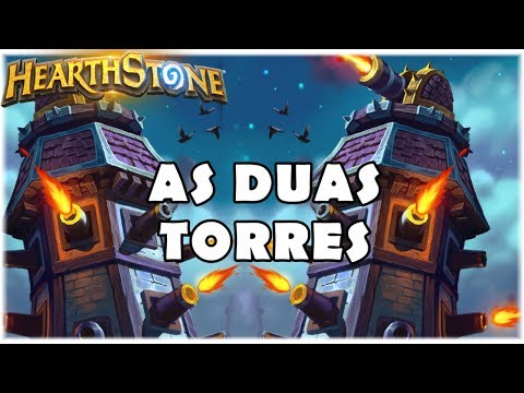 HEARTHSTONE - AS DUAS TORRES! (STANDARD CUBE TOWER COMBO WARRIOR)