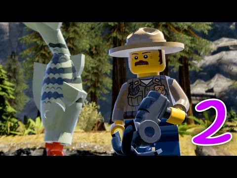 Lego City Undercover (2) Alam Pedesaan yang INDAH!! :D