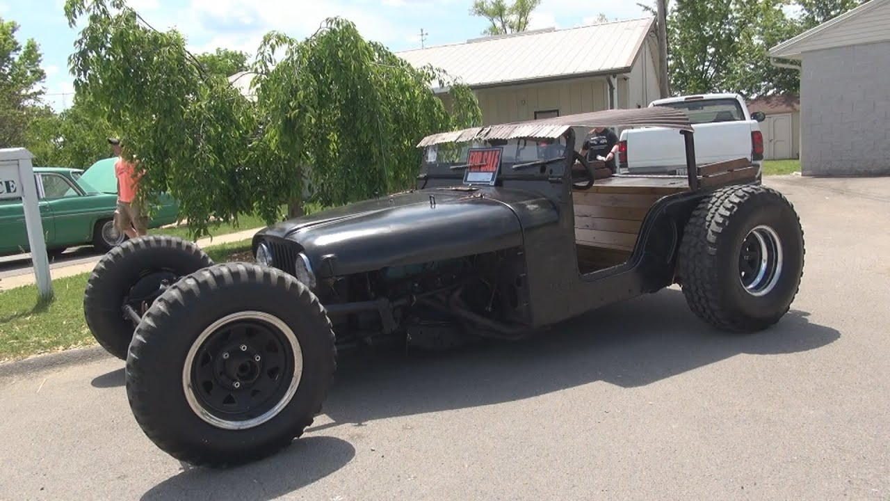 jeep rat rod 2015 redneck rumble spring edition - youtube