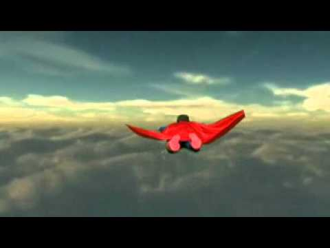 Superman flying youtube for Flying spaces gebraucht
