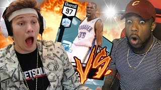 WAGER OF THE YEAR! DIAMOND KEVIN DURANT WAGER VS JESSERTHELAZER NBA 2k17