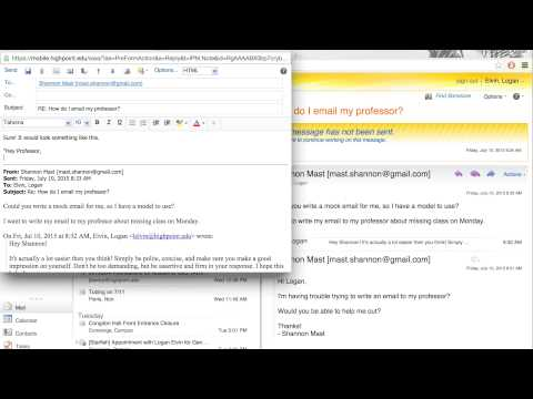 How to Properly Email Your Teacher for an Absence. - YouTube
