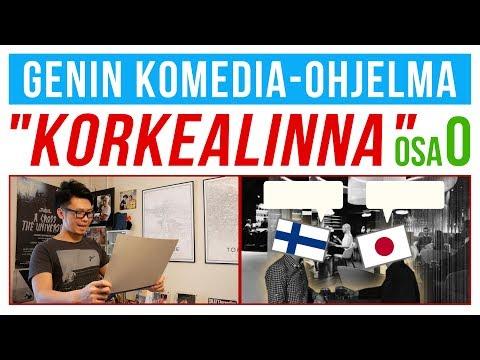 """Genin Komedia-ohjelma""""Korkealinna"""" osa 0 /  """"suomen outo sana"""" jne"""