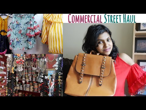 Commercial Street Bangalore Shopping Haul - Commercial Street Tour | AdityIyer