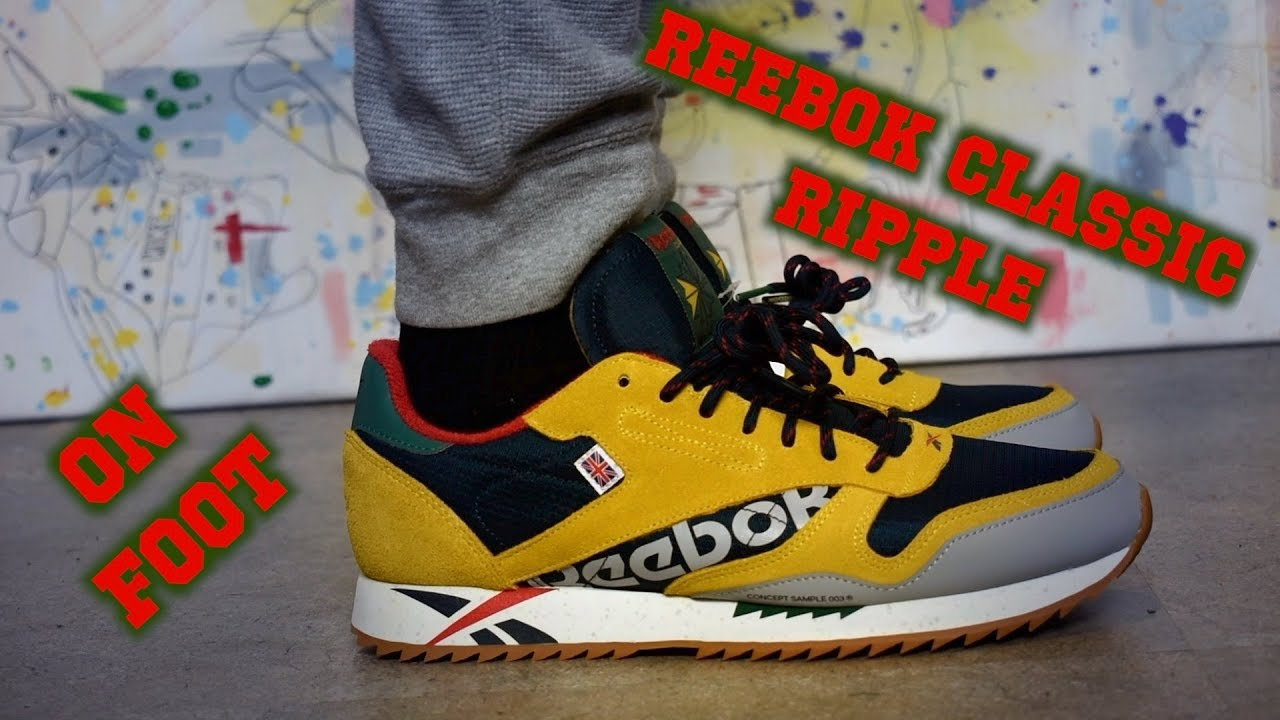 3f09c9479c1 Reebok Classic Leather Ripple MU - YouTube