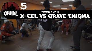 X-Cel vs Grave Enigma | Krump Top 16 | Underground Hip Hop Dance League