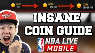 Insane Coin Making Method -  Become a Multi Millionaire - Nba Live Mobile