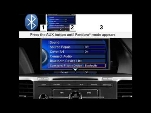 2013 Honda Accord Sedan - HondaLink Pandora Internet Radio.mp4