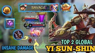 SAVAGE Yi Sun-Shin, Insane Arrow Damage Kill all you want, TOP 2 GLOBAL MLTV