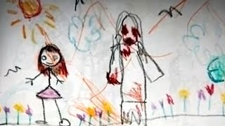 СТРАШИЛКИ НА НОЧЬ - Детские рисунки