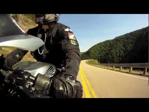 Cabot Trail Biker (HD), Awesome