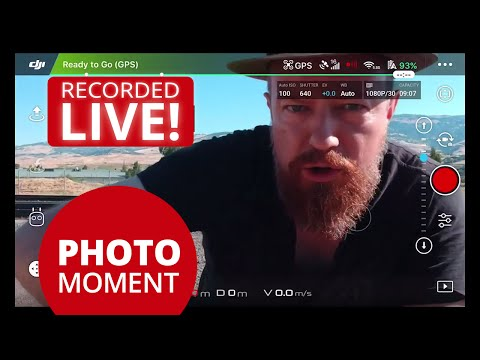 DJI Spark NEW 180° Panorama/Panoramic Mode! LIVE Flight & Stitching — Drone Adventures