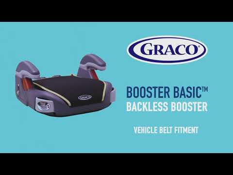 Graco Booster Basic | установка (EN)