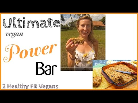 The Ultimate Vegan Power Bar Recipe – protein bar, gluten free, our pre-workout meal