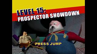 Toy Story 2 - Prospector Showdown 100% Playthrough #18 [Final Boss]