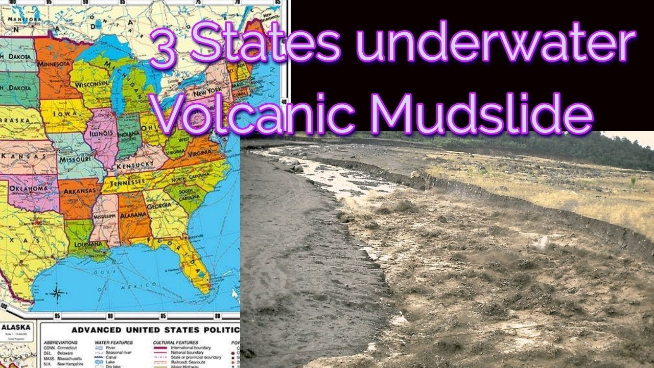 Visions/Dream - 3 states underwater and Massive Volcanic Mudslide