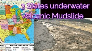 Visions/Dream - 3 states underwater and Massive Volcanic Mudslide
