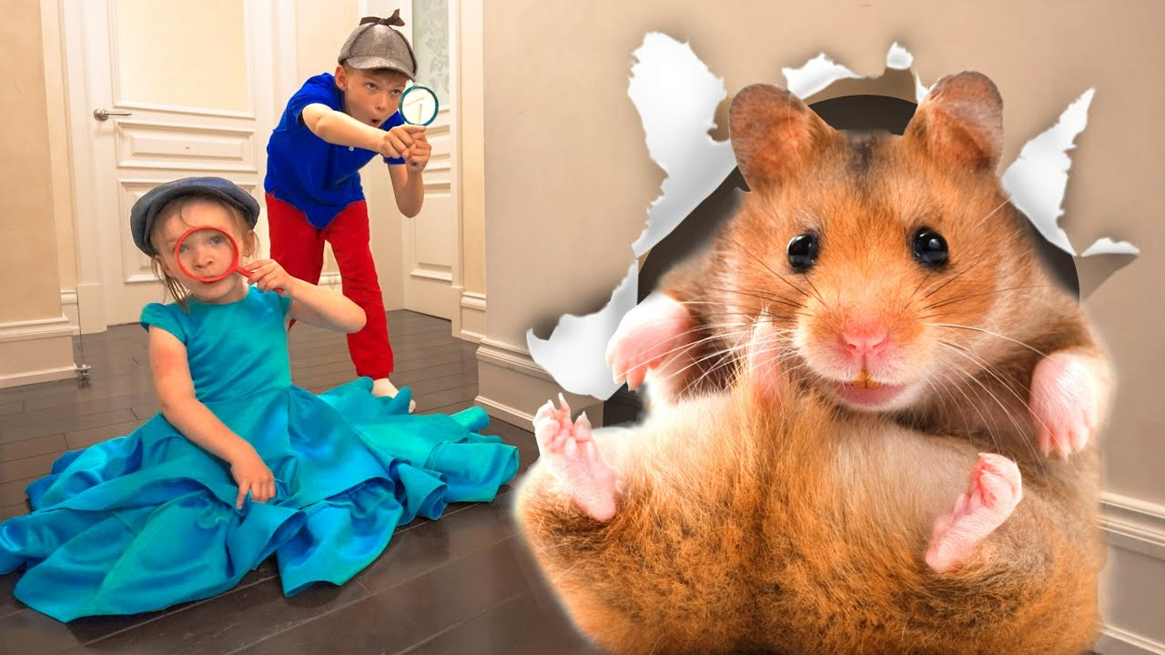 Five Kids Oh No! Got Hamster Lost | Safety Tips for Kids + more Children's Songs and Videos