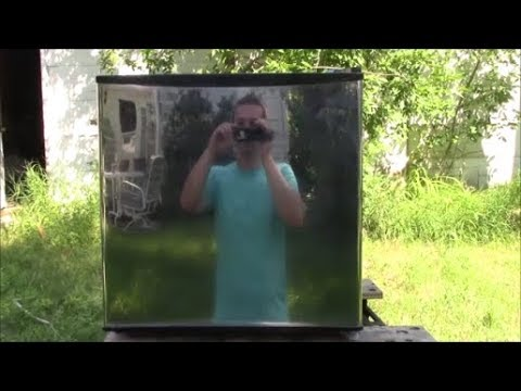 How To Sand And Polish Stainless Steel Mini Fridge To Mirror Finish