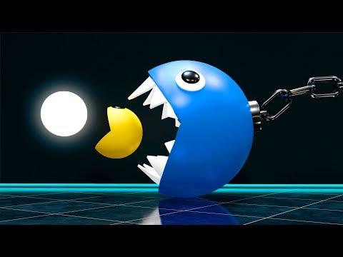 Pacman Vs Chain Chomp Monster