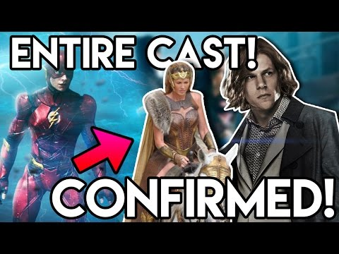 Justice League Entire Full Cast Confirmed & Queen Hippolyta Breakdown