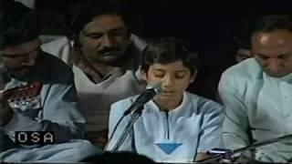 NFAK - Mukh Tera Sohniya Sharab Naloon Changa Eh featuring young Rahat Fateh Ali Khan
