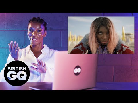 Michaela Coel reacts to I May Destroy You scene   GQ Action Replay   British GQ