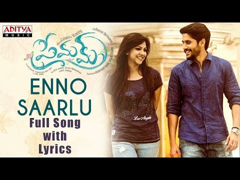 Ennosarlu Full Song With Lyrics | Premam Songs | Naga Chaitanya, Shruthi Hassan, Anupama, Madonna