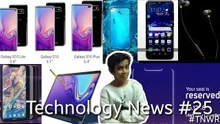 Technology News #25 - Notebook 9 ,S10 Price,Honor 10, Micromax, Nokia 8.1,Honor V20, Infinity-O
