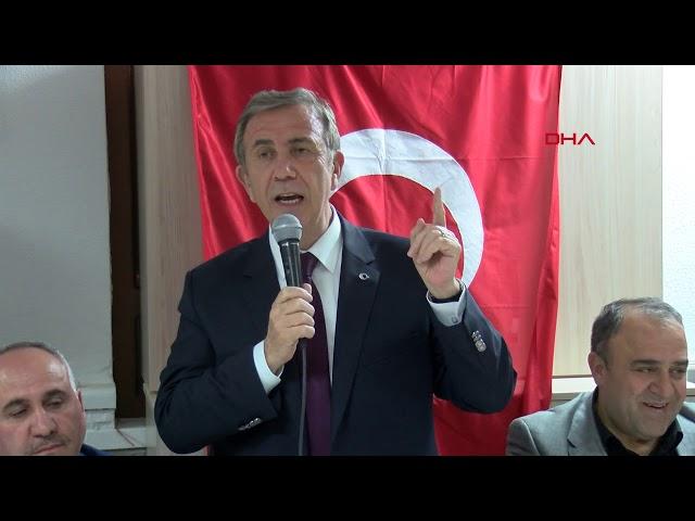 Mansur Yavaş: PKK ile bağını koparmamış insanlarla işimiz olmaz