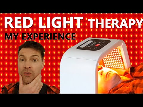 How Red LED Light Therapy Changed My Skin!!! LED Facial Review.