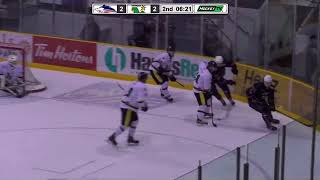 Dryden Ice Dogs - Ted Davis 2017-18 SIJHL finals game 6 clip