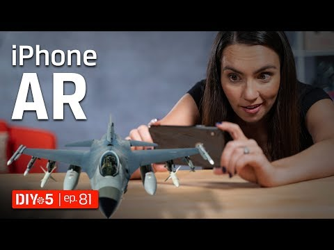 IPhone Tips - IOS Augmented Reality Apps And Games - IPad And IPhone AR - DIY In 5 Ep 81