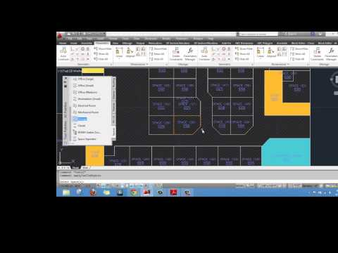 AutoCAD Architecture Space Planning