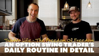 An Option Swing Trader's Daily Routine in Detail
