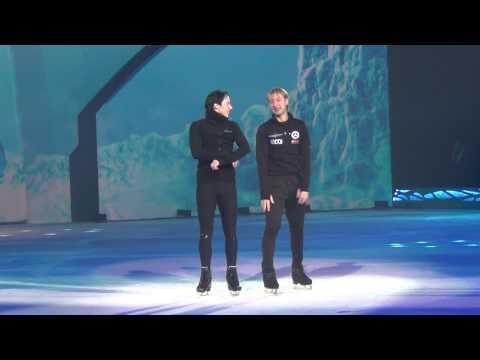 """Evgeni Plushenko & Johnny Weir - """"Snow King"""" rehearsal 3.01.2015"""