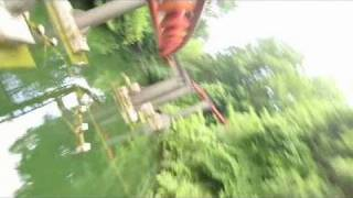Big Bad Wolf Front Seat on-ride widescreen POV Busch Gardens Williamsburg