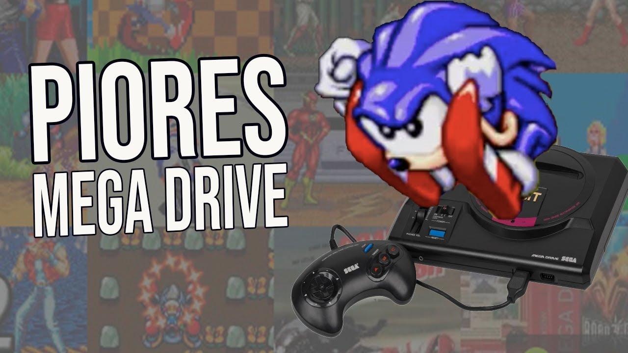 PIORES jogos de Mega Drive ft. Daniel GAMES das ANTIGAS