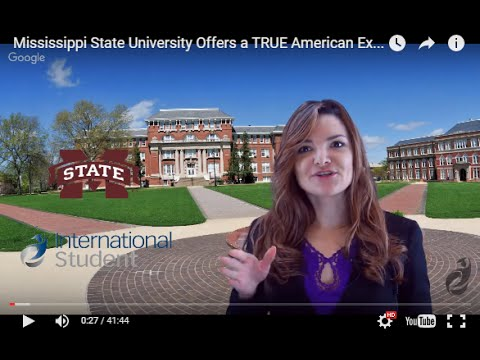 Mississippi State University Offers a TRUE American Experience