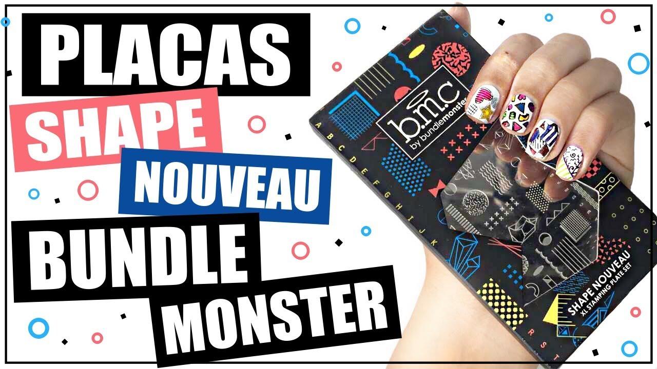 Review Placas De Uñas Shape Nouveau Bundle Monster