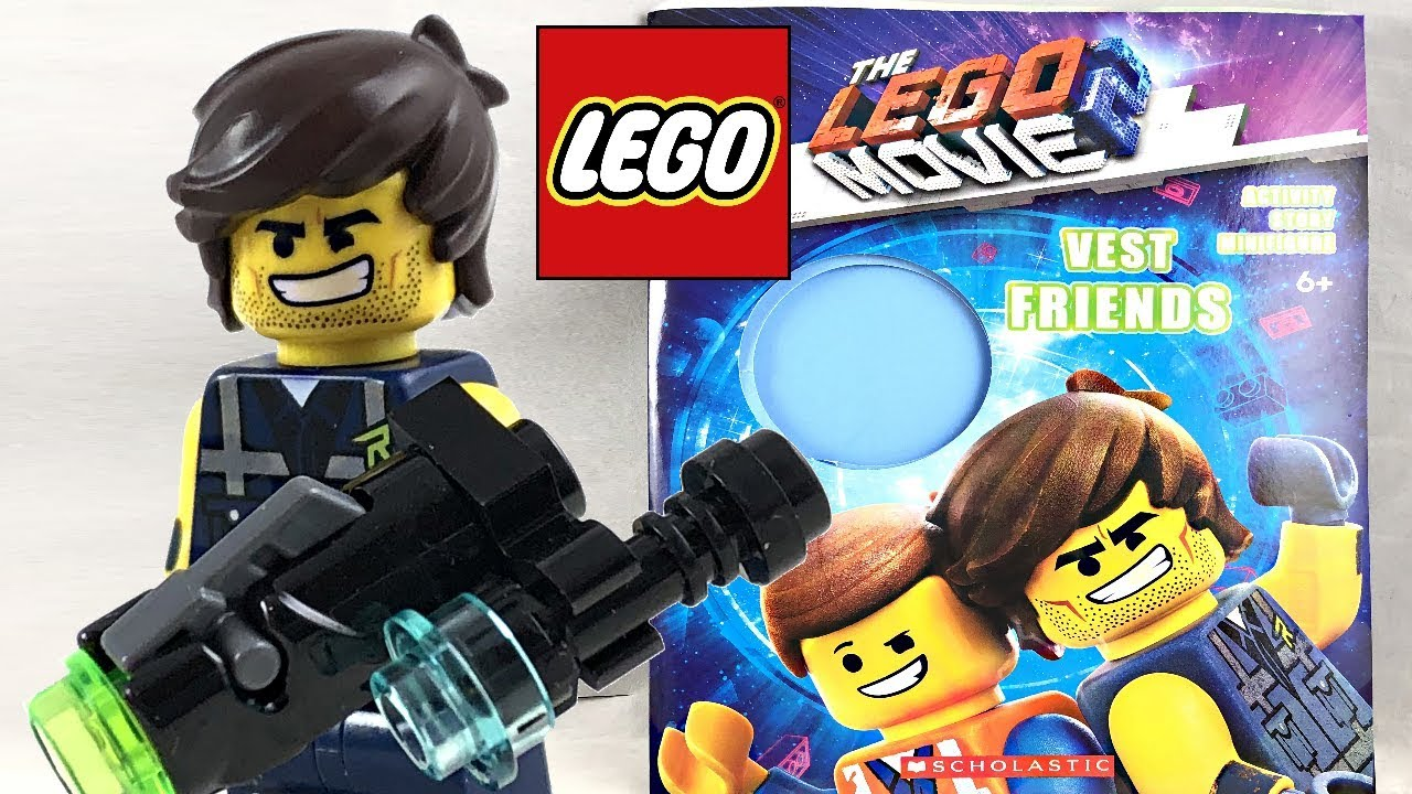 The Lego Movie 2 Rex Minifigure And Vest Friends Book Review Youtube