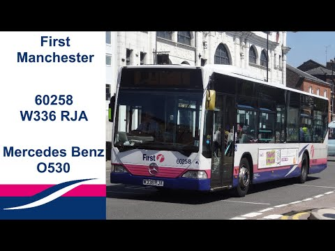 First Greater Manchester 60258 W336 RJA Mercedes Benz Citaro O530 Loud ZF