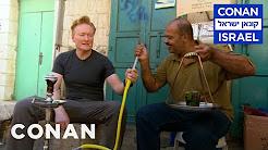 Conan Goes Hookah Shopping In Bethlehem  - CONAN on TBS