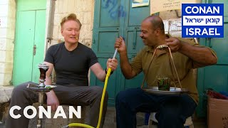 Conan Goes Hookah Shopping In Bethlehem  - CONAN on TBS