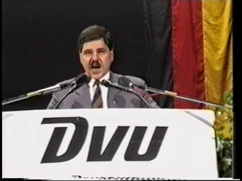 Gerechtigkeit für Deutschland Kundgebung der DVU 1994